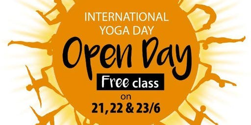 FREE Iyengar Yoga Class (Celebration of International Yoga Day 2019)