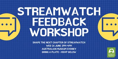Streamwatch Volunteers Feedback Workshop #1