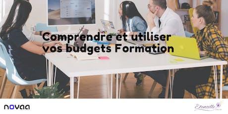 Comprendre et utiliser vos budgets Formation billets