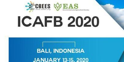 2020 3rd International Conference on Agriculture, Food and Biotechnology (ICAFB 2020)