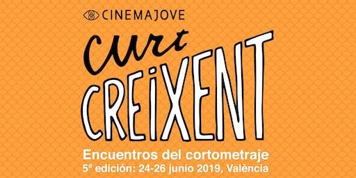 Curt Creixent 2019: 5ª edición. Encuentros del cortometraje