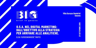 BIG WORKSHOP // Analytics: Come interpretare i dati