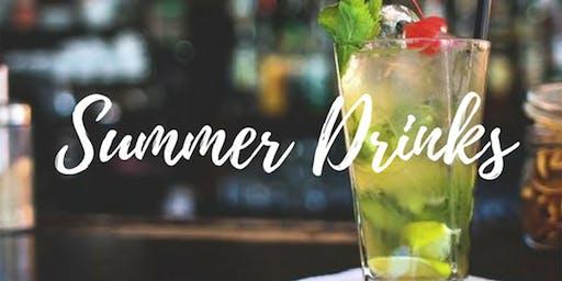 Cóctel de verano en Casa Club Madrid a las 8pm