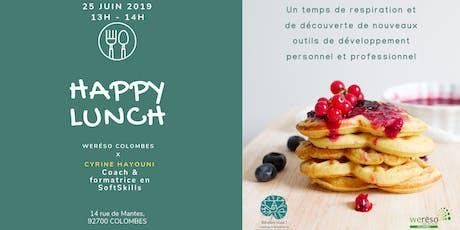 Happy Lunch avec Cyrine Hayouni et weréso Colombes billets