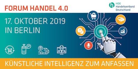 Forum Handel 4.0: Künstliche Intelligenz zum Anfassen Tickets
