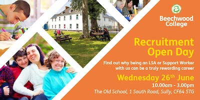 Recruitment Open Day for Support Workers and LSAs
