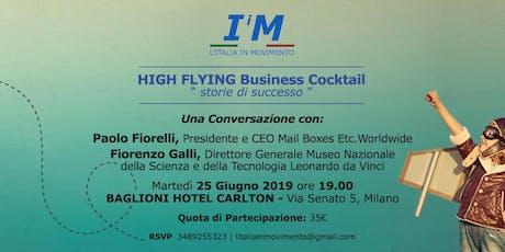 High Flying Business Cocktail - Storie di successo biglietti