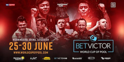 BetVictor World Cup of Pool - Season Tickets