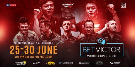 BetVictor World Cup of Pool - Tuesday Sessions tickets