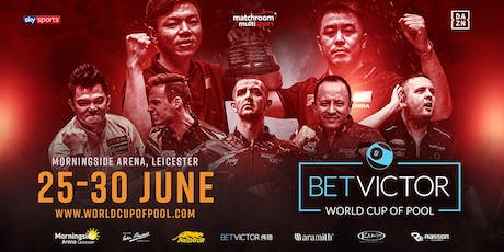 BetVictor World Cup of Pool - Saturday Sessions tickets