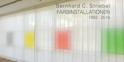 """Buchvorstellung: Bernhard C. Striebel - """"Farbinstallationen 1982-2018"""""""
