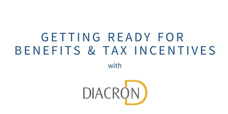 Getting Ready for Benefits & Tax Incentives tickets