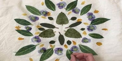Botanical Print Fabric Workshop (Savick)
