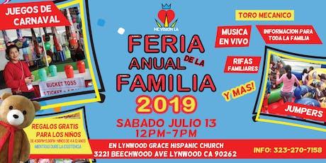 Feria Anual de la Familia 2019 (Annual Family Fair 2019) tickets