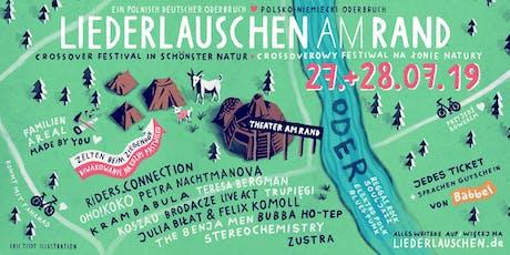 Liederlauschen am Rand - Festival - Ein polnisch deutscher Oderbruch Tickets