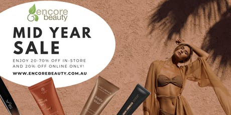 The Encore Beauty Huge Mid Year Cosmetics Sale! tickets