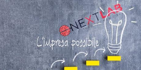 CNA NEXT LAB  - L'IMPRESA POSSIBILE |  Confronto tra i giovani imprenditori biglietti