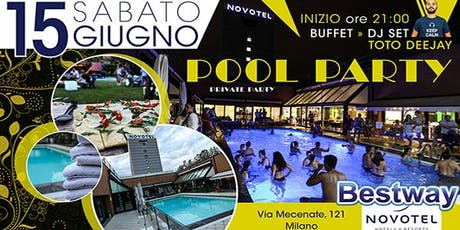 Private Pool Party in un hotel 4 stelle tickets