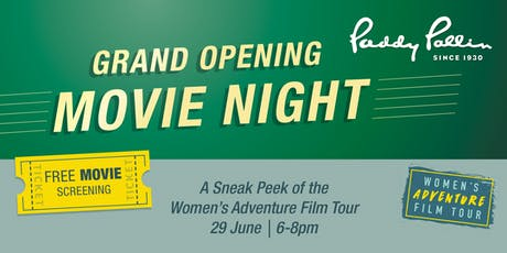 Paddy Pallin Melbourne Grand Opening tickets