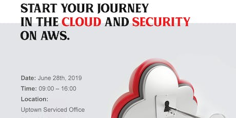 Start Your Cloud Journey and Security on AWS tickets