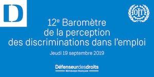 12ème Baromètre de la perception des discriminations...