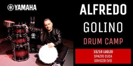 Alfredo Golino Drum Camp biglietti