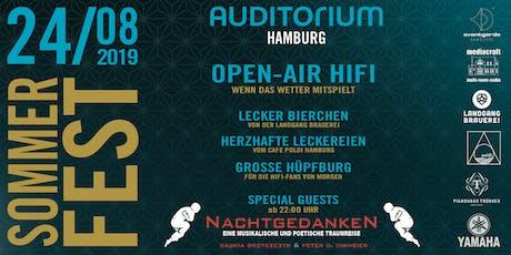 Sommerfest AUDITORIUM // Special Guest DIE NACHTGEDANKEN Tickets