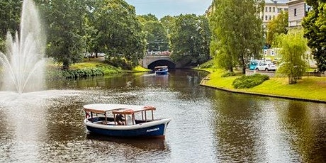 Canal Cruise Riga tickets