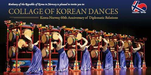 Collage of Korean Dances