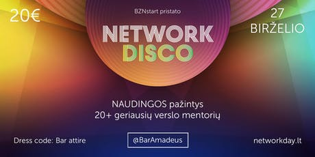 Network Disco tickets