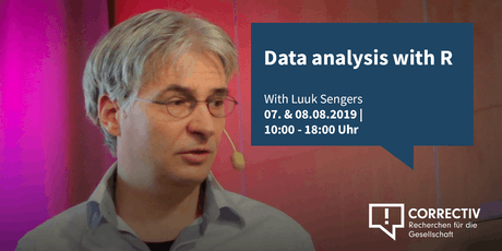 Day 1 – Data analysis with R – Workshop with Luuk Sengers Tickets