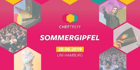 ChefTreff Sommergipfel 2019 tickets