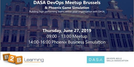 DASA Devops Meetup Brussels | 27 June billets