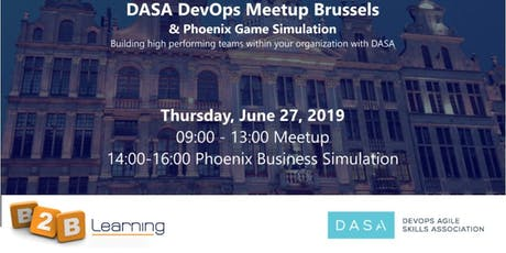 DASA Devops Meetup Brussels | 27 June tickets