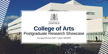 College of Arts: PGR Showcase tickets