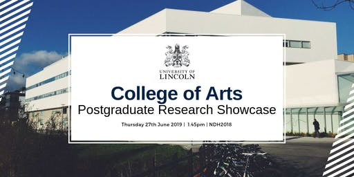 College of Arts: PGR Showcase