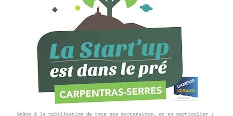 La Start'up est dans le pré - Carpentras -  tickets