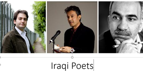 Final call: to hear three eminent Iraqi poets at the Poetry Society  tickets