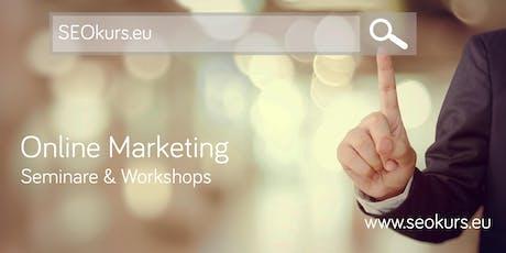 SEO:Workshop professional Wien 17.06.19 (Suchmaschinenoptimierung) Tickets