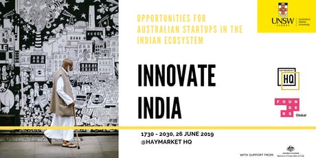 Innovate India tickets