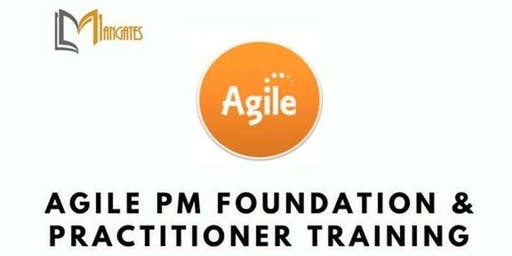 Agile Project Management Foundation & Practitioner (AgilePM®) 5 Days Virtual Live Training in Hamilton