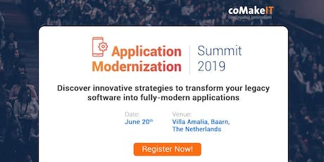 Application Modernization Summit 2019 tickets