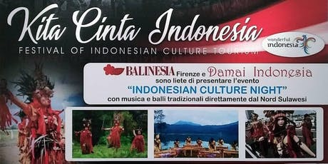 Indonesian Culture Night, Serata Per La Cultura Indonesiana biglietti
