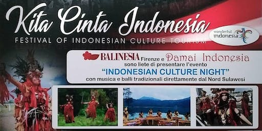 Indonesian Culture Night, Serata Per La Cultura Indonesiana