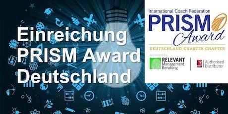 Vorbereitung Ihrer Einreichung für den ICF Prism Award Deutschland III Tickets
