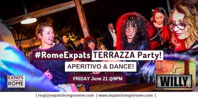 Friday Terrazza Aperitivo & Dance Party!