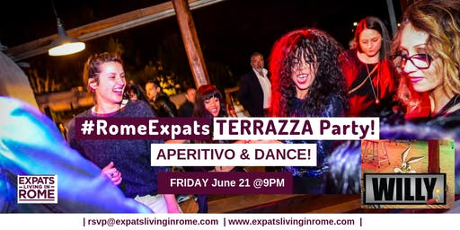 Friday Terrazza Aperitivo & Dance Party!