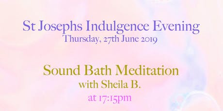 Gong Bath ( Meditation )£5 + donation tickets