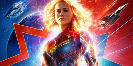 Captain Marvel (+ Pizza!) tickets