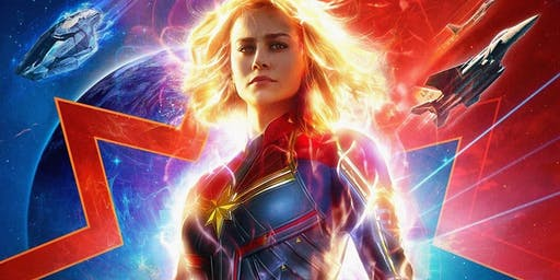 Captain Marvel (+ Pizza!)